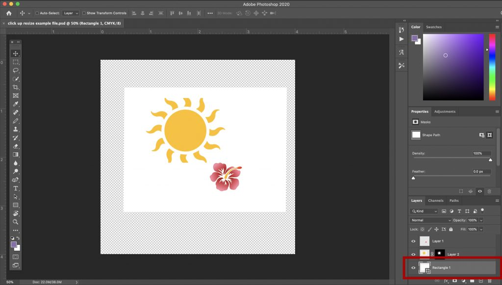 How to Scale, Transform, and Resize an Object in Photoshop